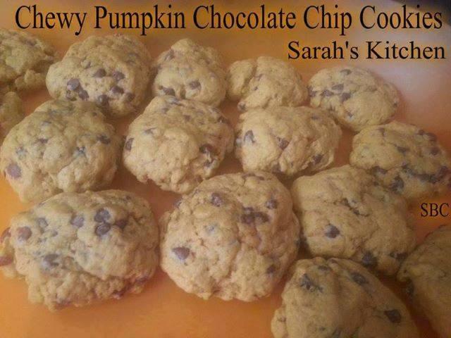 PUMPKIN CHOCOLATE CHIP COOKIES – Tonja Busch